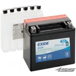 Motobatéria Exide ETX14-BS (AGM)