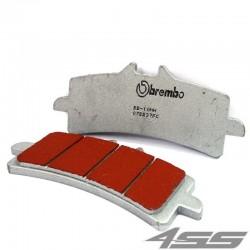 Predné platničky Brembo 07BB37SC Sinter (Cesta/Okruh)