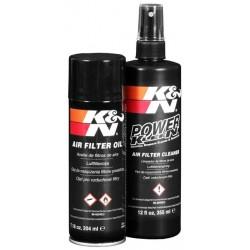 Čistiaca sada vzduchového filtra K&N (čistič + olej)