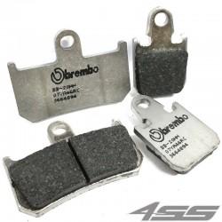 Predné platničky Brembo 07YA46RC Carbon/Ceramic (Okruh)