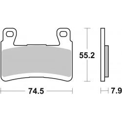 Predné platničky SBS 894RS Sinter (Cesta/Okruh)