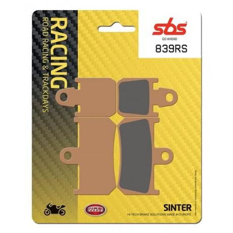 Predné platničky SBS 839RS Sinter (Cesta/Okruh)