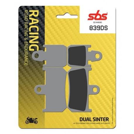 Predné platničky SBS 839DS Dual Sinter (Okruh)
