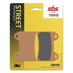 Predné platničky SBS 706HS Sinter (Cesta)