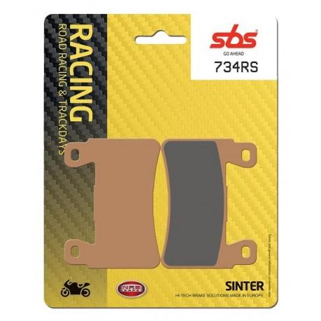 Predné platničky SBS 734RS Sinter (Cesta/Okruh)