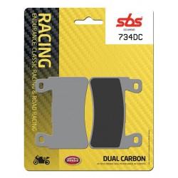 Predné platničky SBS 734DC Dual Carbon (Okruh)