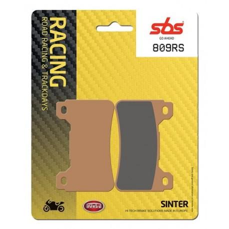Predné platničky SBS 809RS Sinter (Cesta/Okruh)