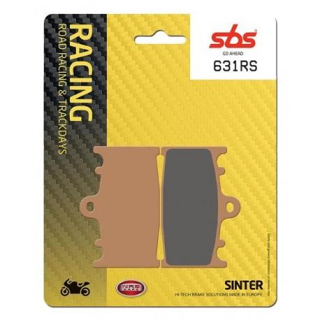 Predné platničky SBS 631RS Sinter (Cesta/Okruh)
