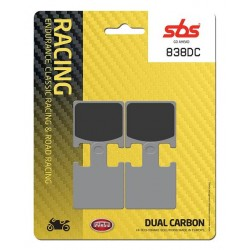 Predné platničky SBS 838DC Dual Carbon (Okruh)