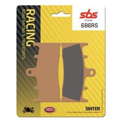 Predné platničky SBS 686RS Sinter (Cesta/Okruh)