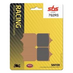 Predné platničky SBS 762RS Sinter (Cesta/Okruh)