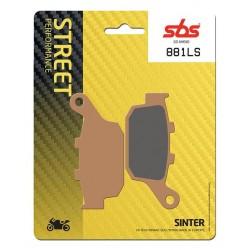 Zadné platničky SBS 881LS Sinter (Cesta)