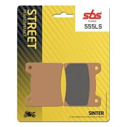 Zadné platničky SBS 555LS Sinter (Cesta)