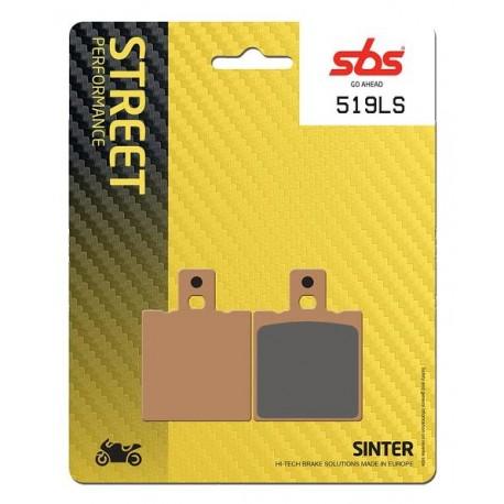 Zadné platničky SBS 519LS Sinter (Cesta)