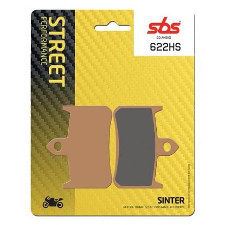 Predné platničky SBS 622HS Sinter (Cesta)