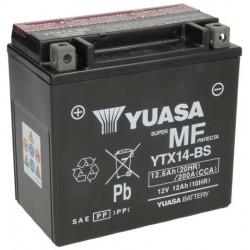 Motobatéria YUASA YTX14-BS (AGM)