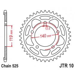 Reťazová rozeta JTR10