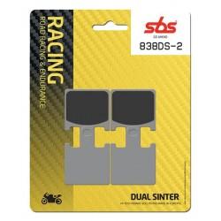 Predné platničky SBS 838DS-2 Dual Sinter (Okruh)