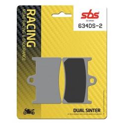 Predné platničky SBS 634DS-2 Dual Sinter (Okruh)
