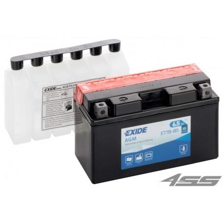 Motobatéria Exide ET7B-BS (AGM)