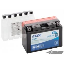 Motobatéria Exide ET9B-BS (AGM)