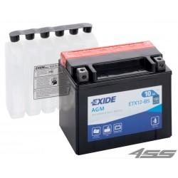 Motobatéria Exide ETX12-BS (AGM)