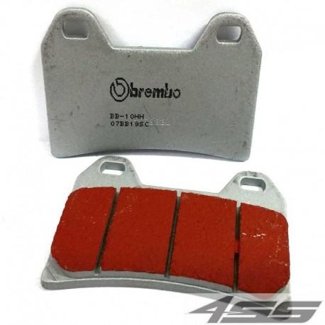 Predné platničky Brembo 07BB19SC Sinter (Cesta/Okruh)