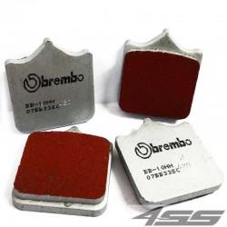 Predné platničky Brembo 07BB33SC Sinter (Cesta/Okruh)