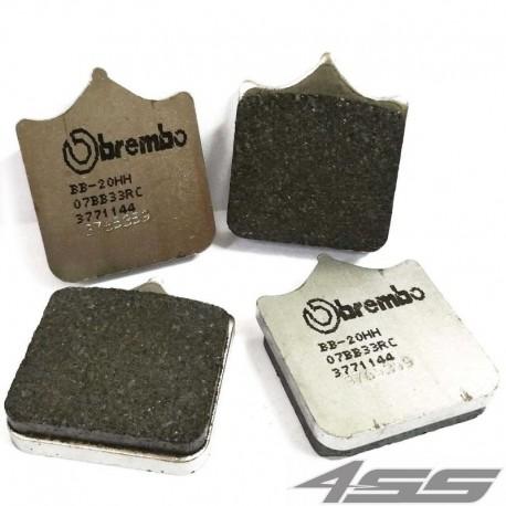 Predné platničky Brembo 07BB33RC Carbon/Ceramic (Okruh)