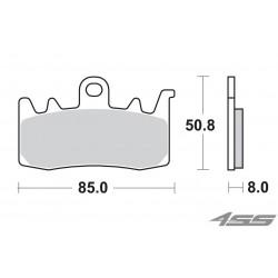 Predné platničky SBS 900HS Sinter (Cesta)