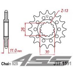 Predné kolečko JTF1591