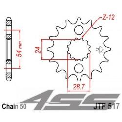 Predné kolečko JTF517