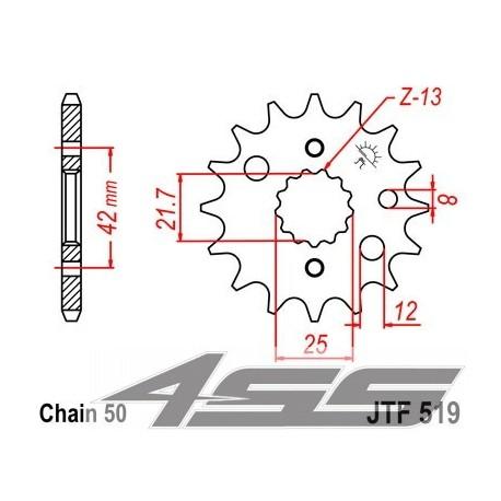 Predné kolečko JTF519