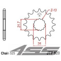 Predné kolečko JTF520