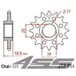 Predné kolečko JTF704