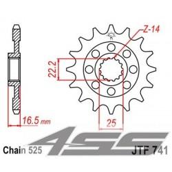 Predné kolečko JTF741