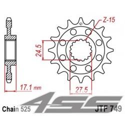 Predné kolečko JTF749