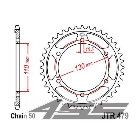 Reťazová rozeta JTR479