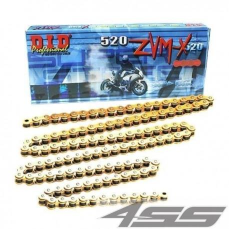 DID reťaz 520ZVMX zlatá