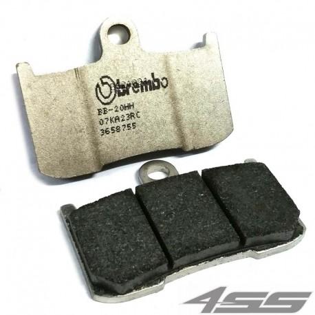 Predné platničky Brembo 07KA23RC Carbon/Ceramic (Okruh)