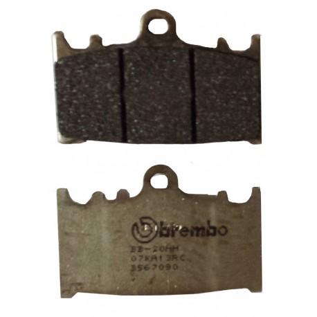 Predné platničky Brembo 07KA13RC Carbon/Ceramic (Okruh)