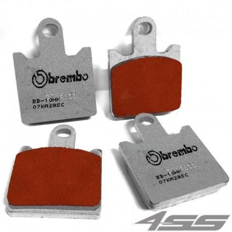 Predné platničky Brembo 07KA28SC Sinter (Cesta/Okruh)