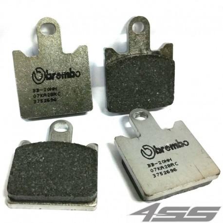 Predné platničky Brembo 07KA28RC Carbon/Ceramic (Okruh)