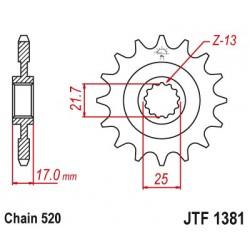 Predné kolečko JTF1381