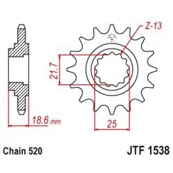 Predné kolečko JTF1538