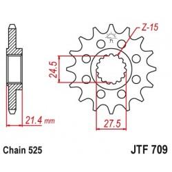 Predné kolečko JTF709
