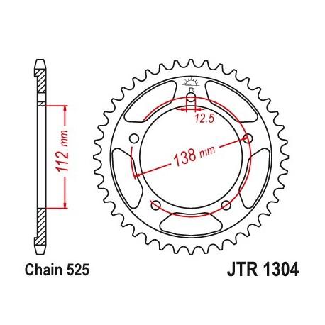 Reťazová rozeta JTR1304