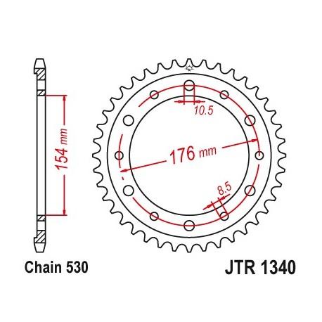 Reťazová rozeta JTR1340