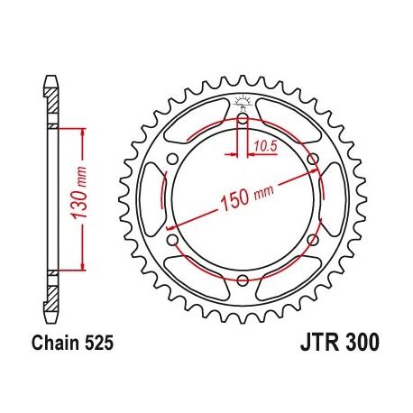 Reťazová rozeta JTR300