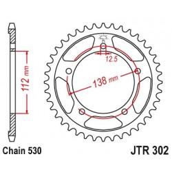 Reťazová rozeta JTR302